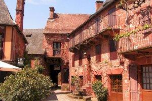 Ophorus Blog - Most Beautiful villages of France: Collonges-la-Rouge