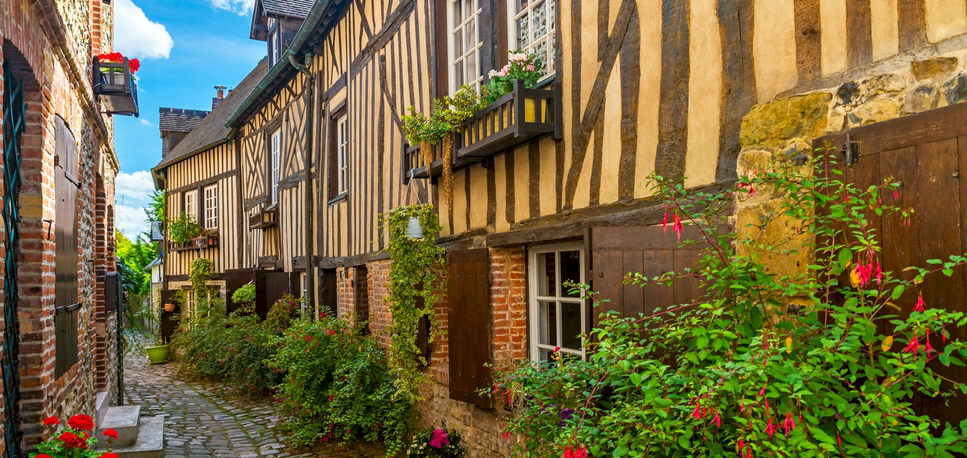 Ophorus Tours - Honfleur, Beuvron en Auge Village & Calvados Tasting Shared Full Day Trip From Bayeux