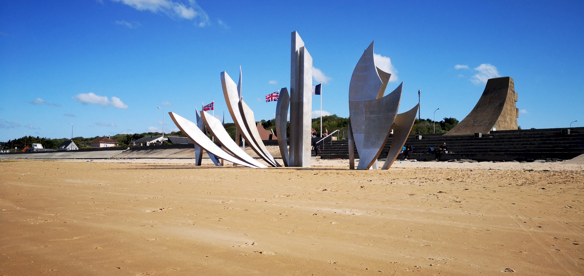 Ophorus Tours - Omaha Beach & Normandy D-Day Sites Private Half Day Trip From Bayeux
