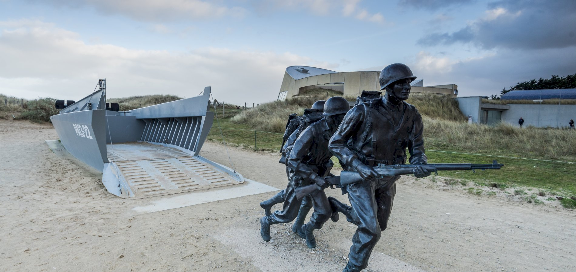 Ophorus Tours - U.S D-DAY Beaches Small Group Private Half Day Shore Excursion From Cherbourg