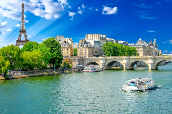 Ophorus Tours - 2 Hours Paris Sightseeing Tour by Minibus and 1 hour Seine River Cruise