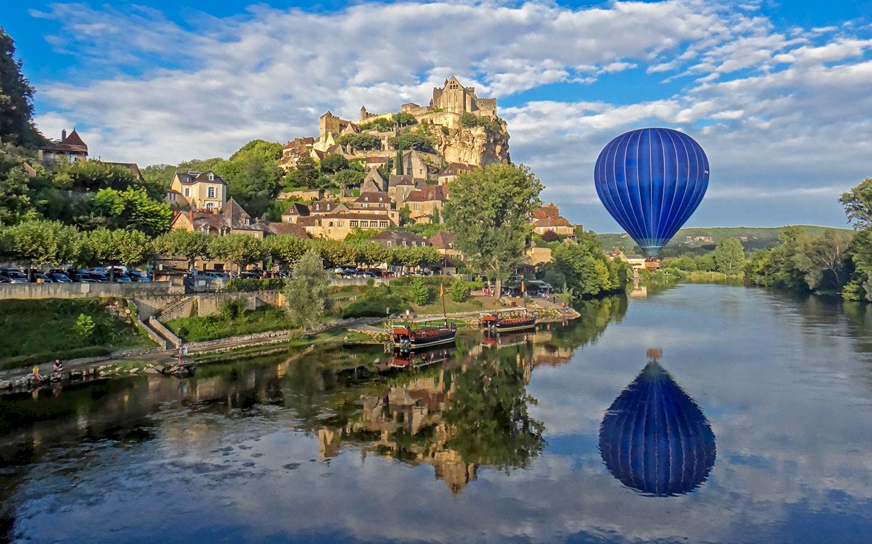 Ophorus Tours - Dordogne Valley Shared Hot Air Balloon Flight