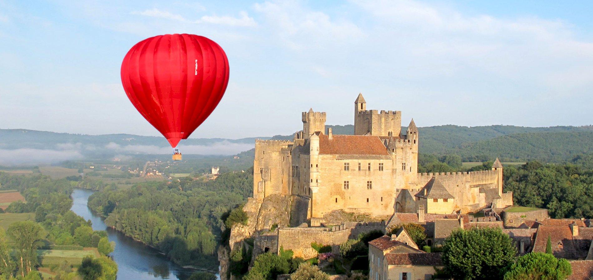 Ophorus Tours - Dordogne Valley Private VIP Hot Air Balloon Flight