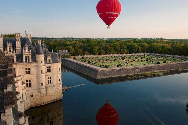 Ophorus Tours - Loire Valley Château Shared Hot Air Balloon Flight