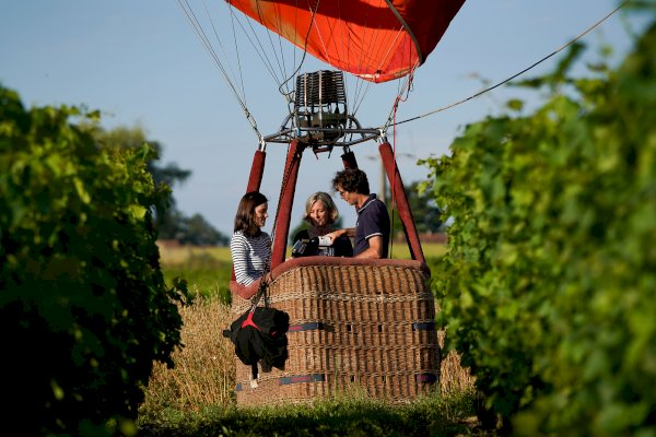 Ophorus Tours - Saint Emilion Wine Region Private VIP Hot Air Balloon Flight
