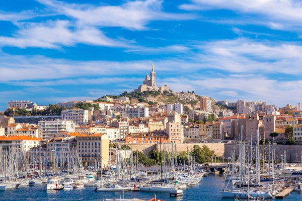 Ophorus Tours - Cassis Village & Marseille Shared Day Trip from Aix en Provence